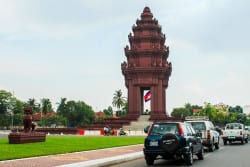 Wondering around in Phnom Penh