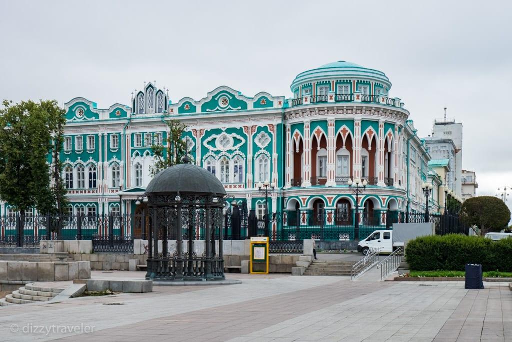 Sevastyanov's House in Yekaterinburg, Russia