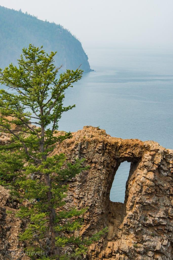 Window of the world, Olkhon, Lake Baikal