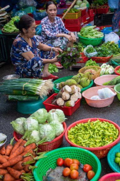 Dong Ba Market in Hue City