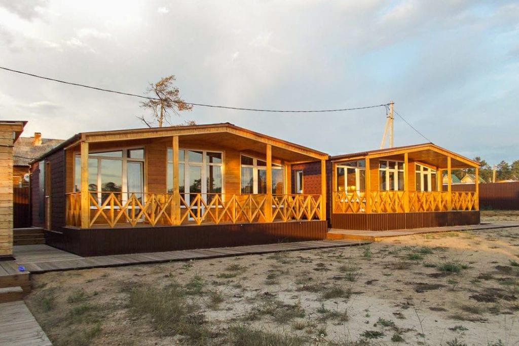 Holiday Park in Olkhon Island, Lake Baikal