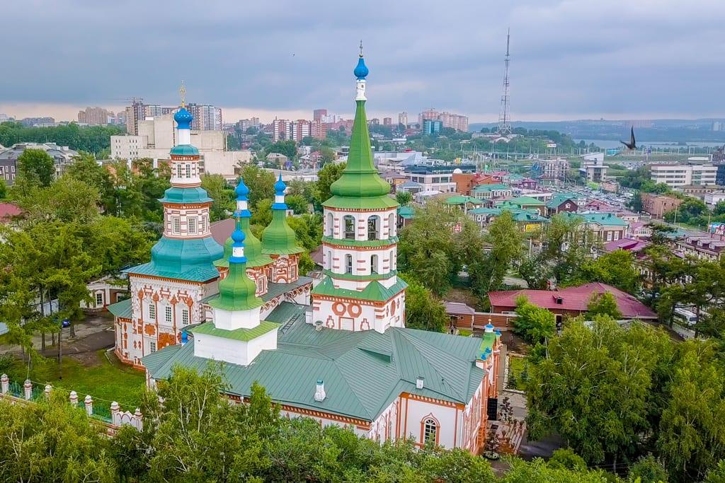 Holy Cross Church, Irkutsk, Russia