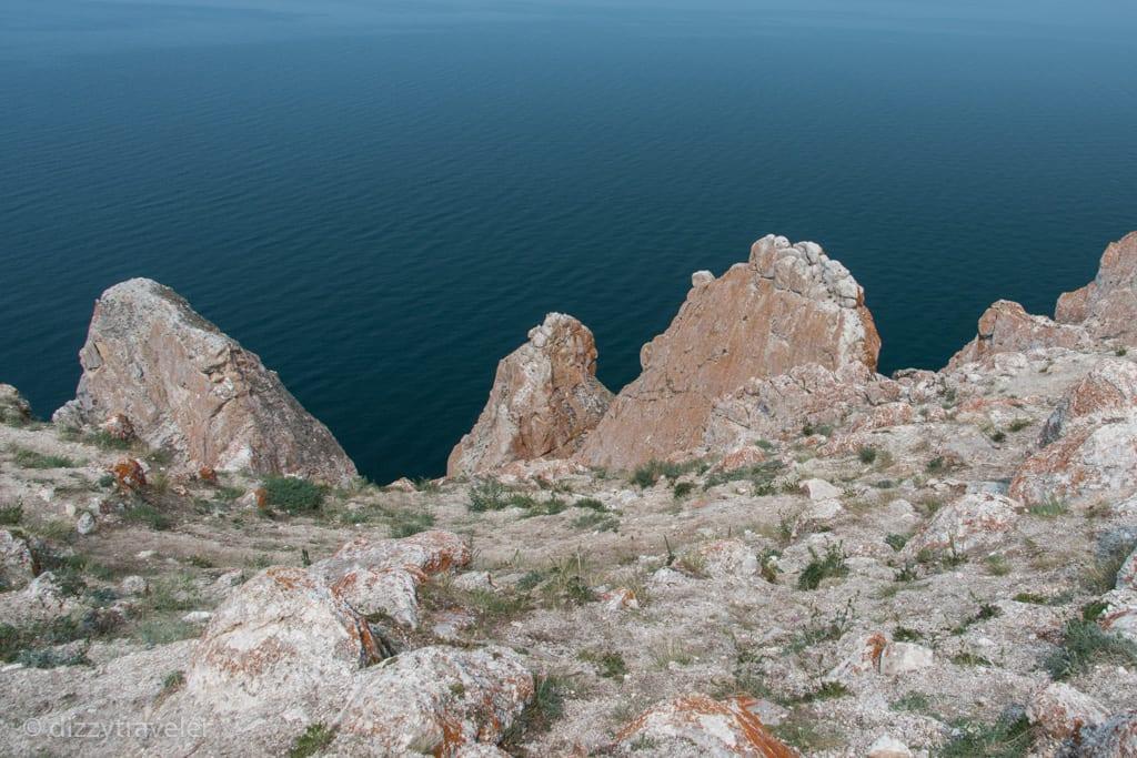 The Rock of Three brothers, Lake baikal