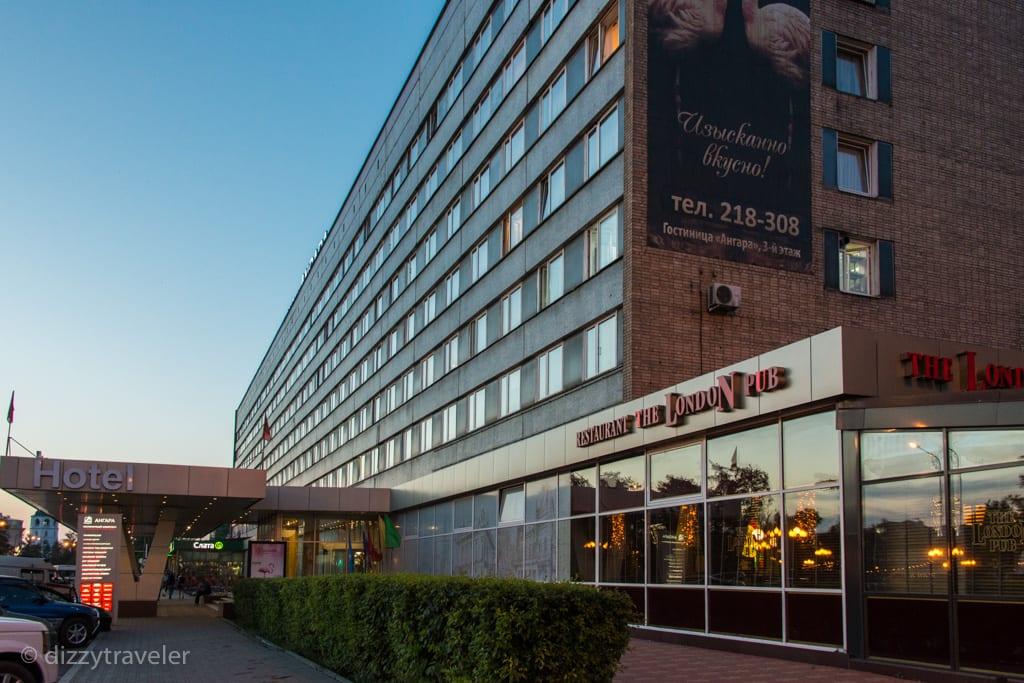 Angara Hotel in Irkutsk