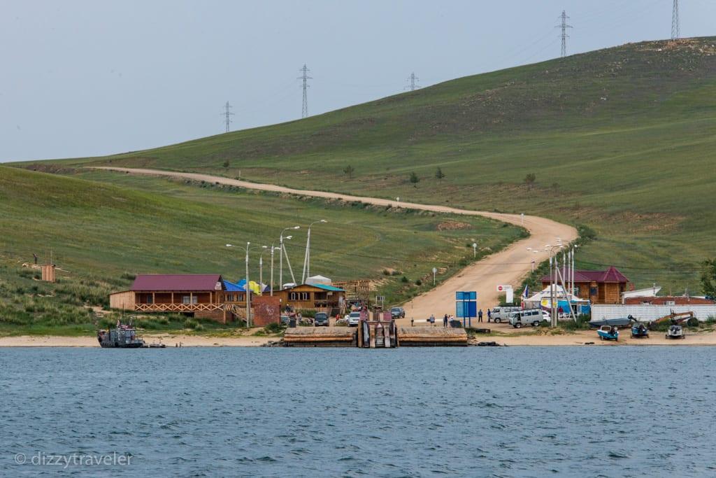 Olkhon Islandd Ferry Terminal
