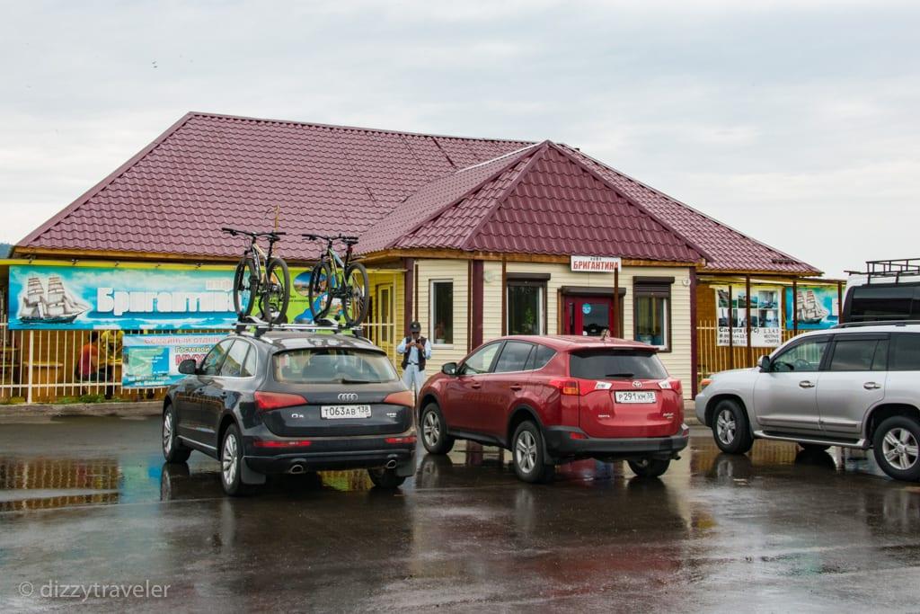 Dztraveler-Road to Olkhon Island, Russia
