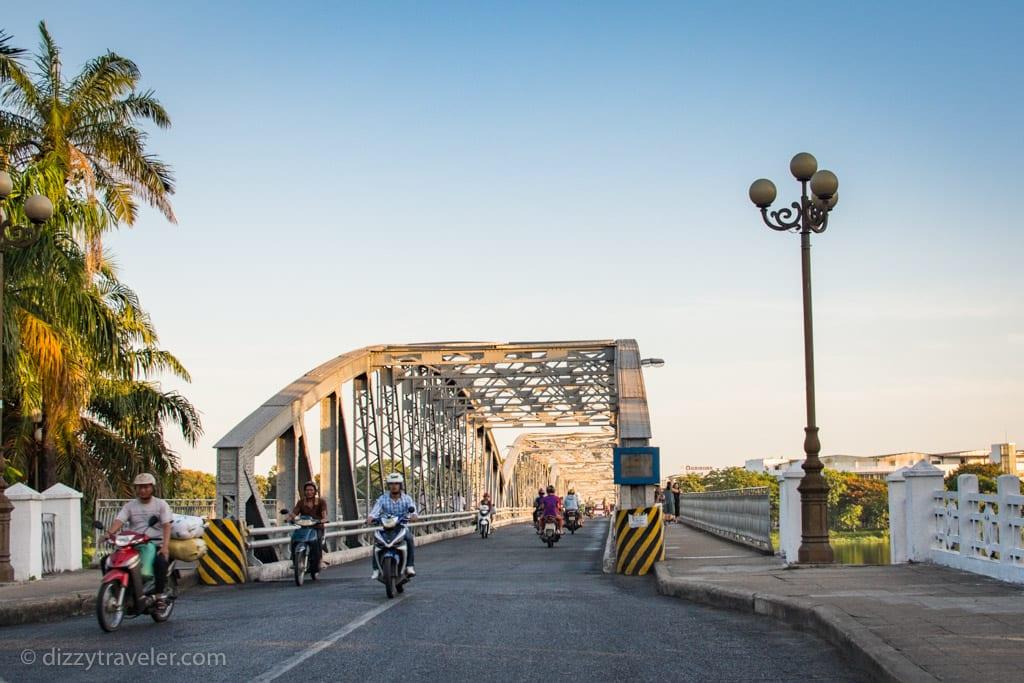 Truing Tien Bridge, Hue - Vietnam