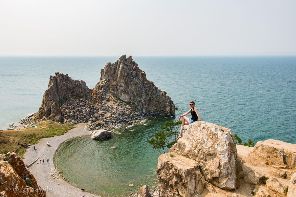 shaman rock, Olkhon Island, Russia