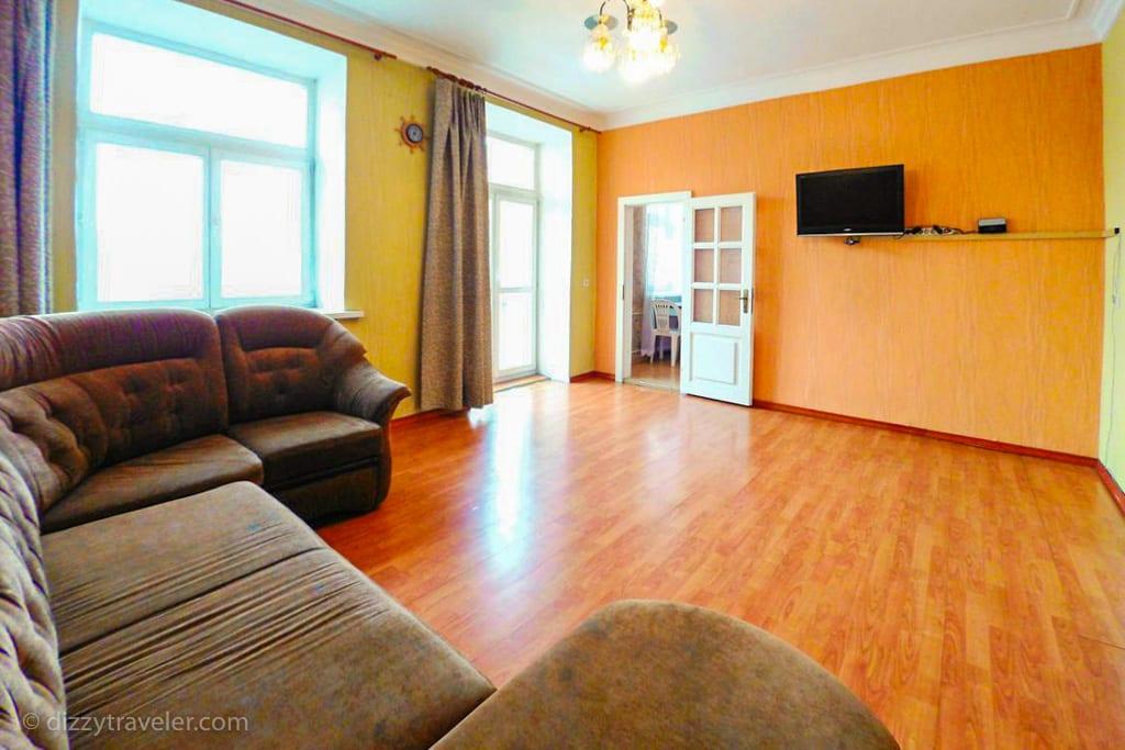 The apartment on Marata 31, irkutsk