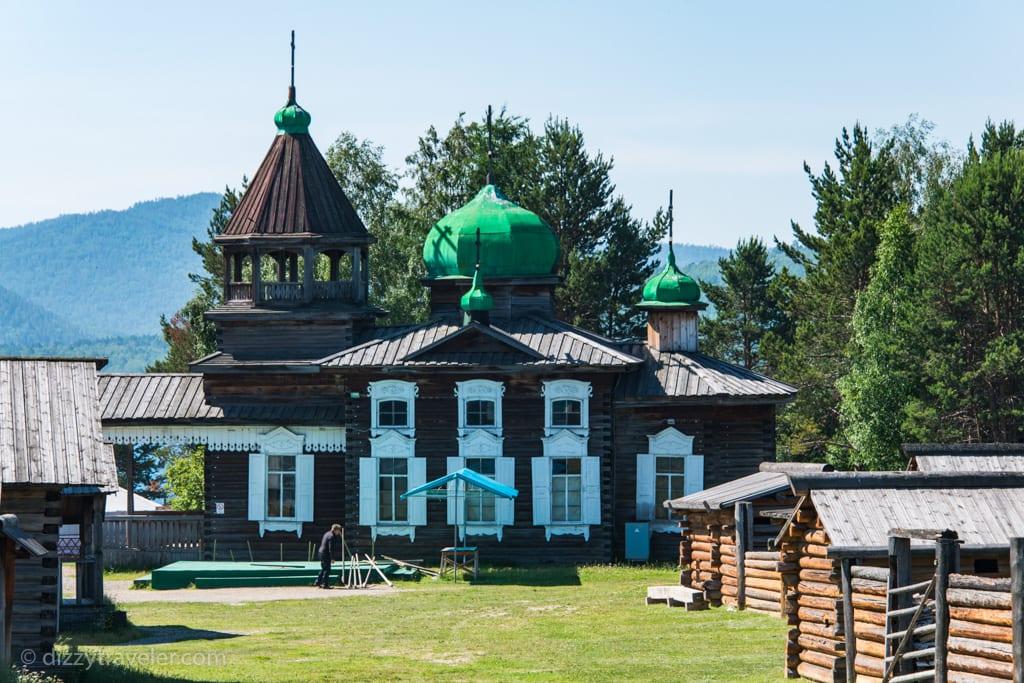 Taltsy Museum, Irkutsk russia