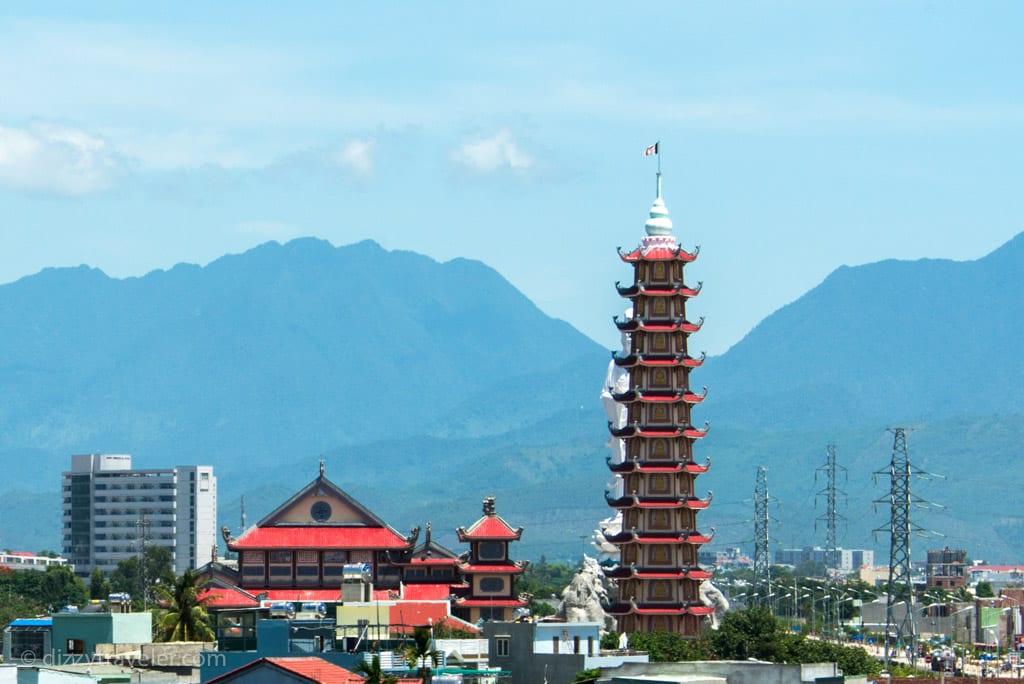 Phap Lam Pagoda in Da Nang, Vietnam