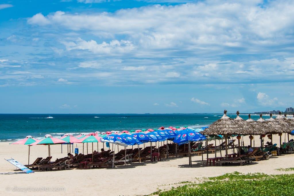 Beautiful My Khe Beach in Da Nang, Vietnam