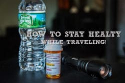 How to Stay Healthy while Traveling!