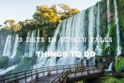 3 Days in Iguazu Falls, Things To Do