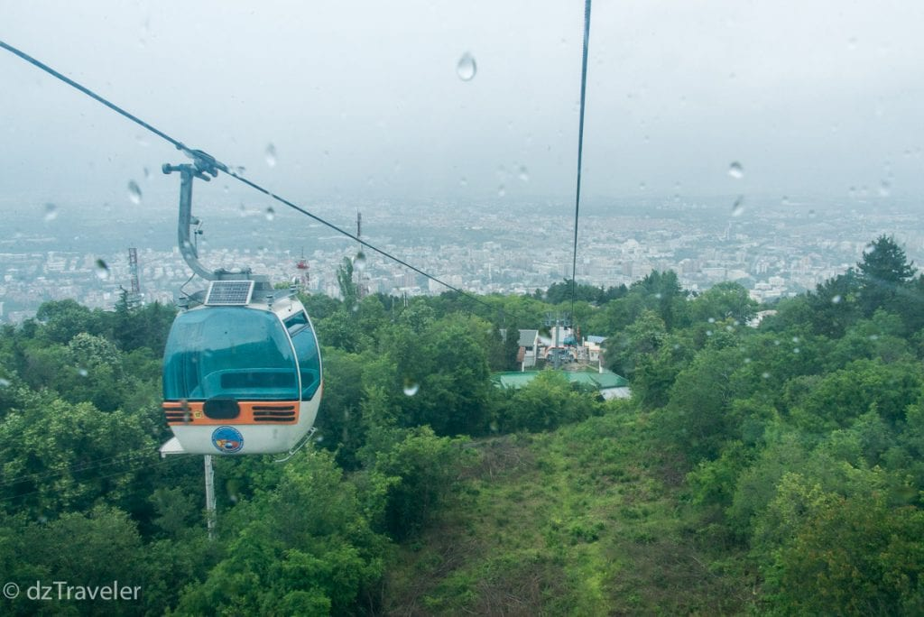 Cable Car to Millennium Cross, Skopje