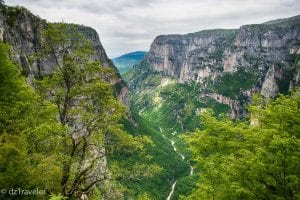 Oxia Viewpoint of Vikos Gorge,