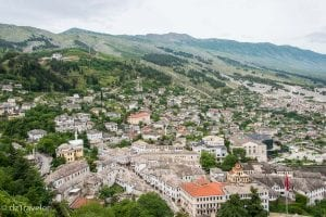 UNESCO World Heritage Site of Gjirokaster