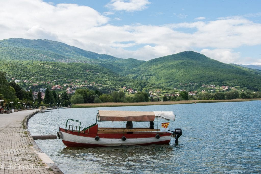 Boat Ride in Ohrid, Macedonia