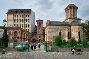 Biserica Curtii Domnesti Church at Old Town, Bucharest