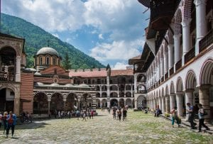 Driving to Rila Monastery​ from Sofia