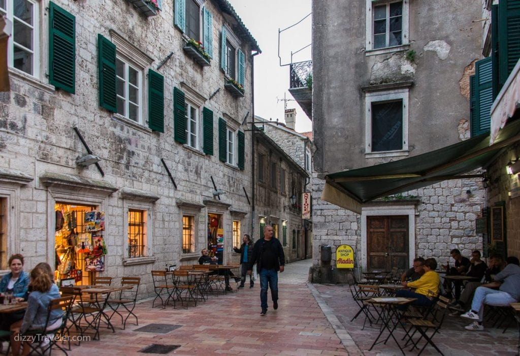 Stroll through narrow alleys of Kotor old town