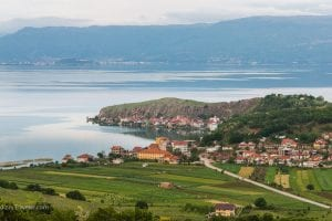 Scenic Road to Ohrid, Macedonia