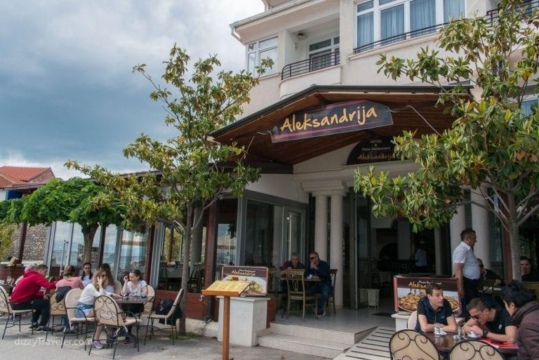Aleksandrija Restaurant, Ohrid
