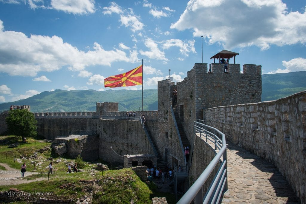 Самуиловский замок, Охрид
