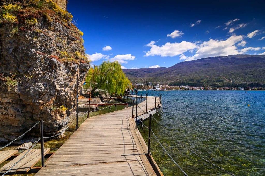 Пляж Кенео, Охрид