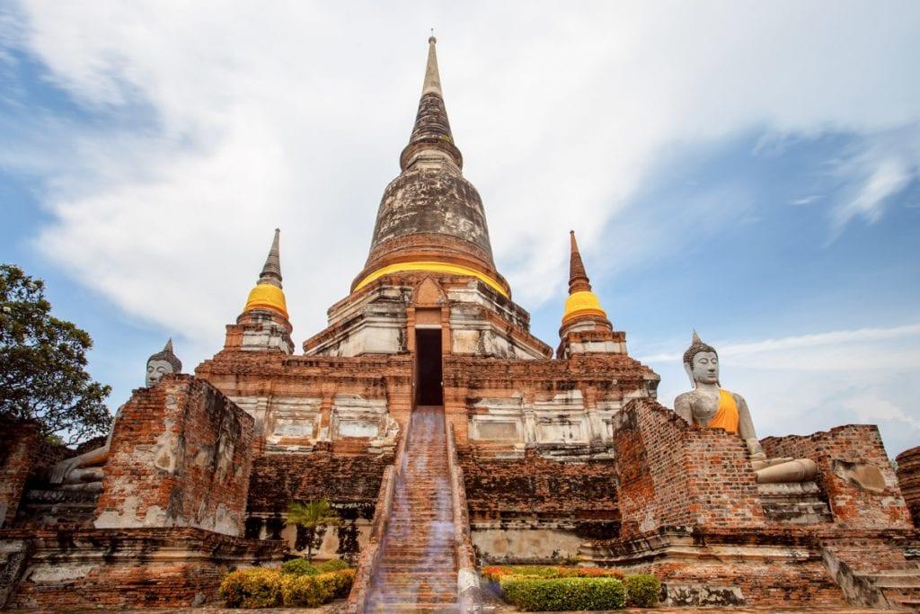 wat yai chai mongkol, ayutthaya