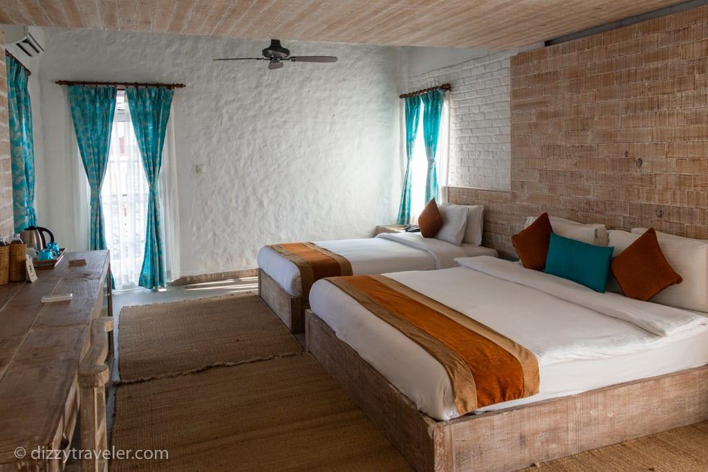 glacier-hotel by phewa lake, Pokhara, Nepal