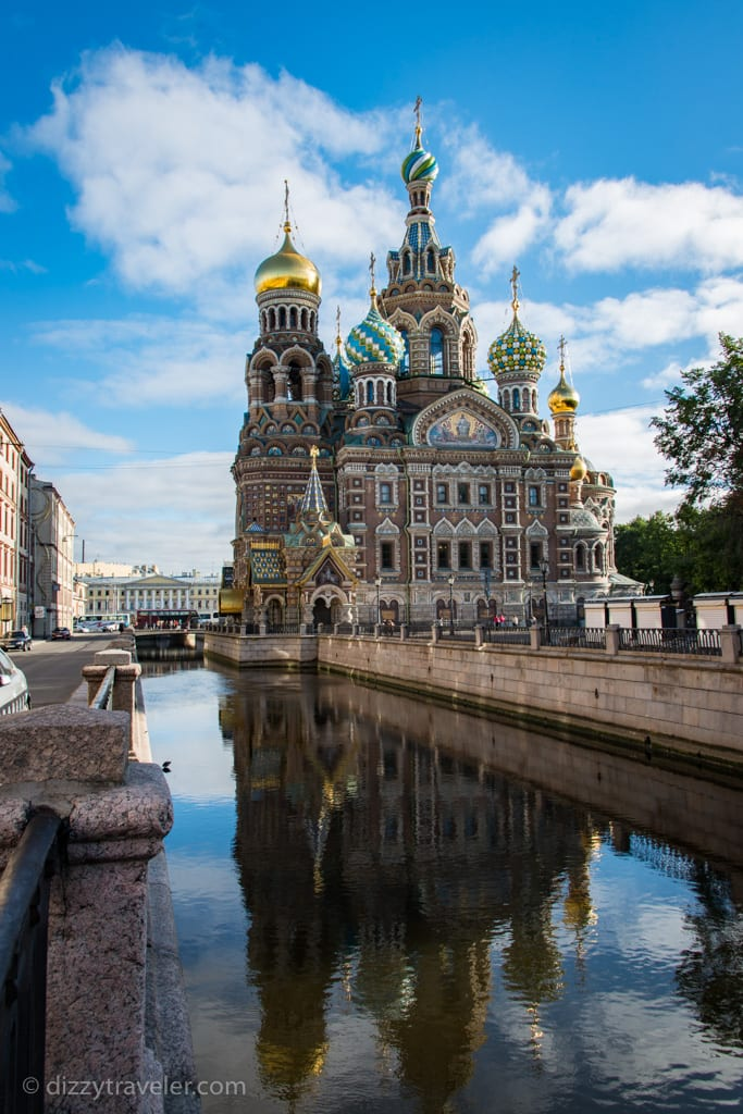 Church of The Savior on Spilled Blood, St Petersburg