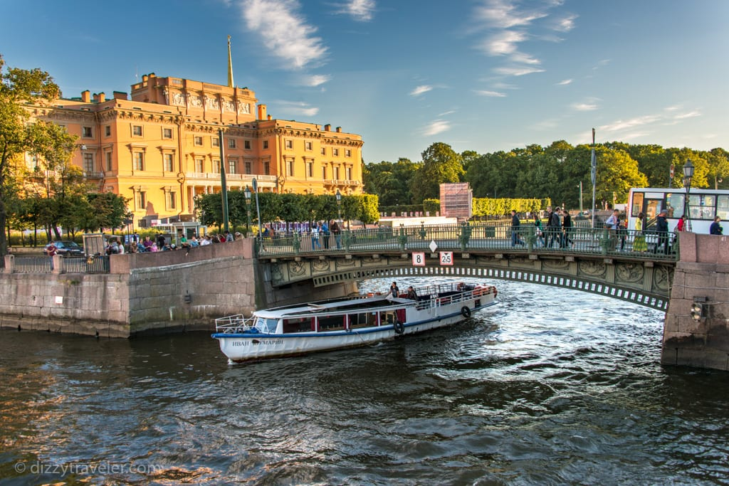 River Cruise in St Petersburg