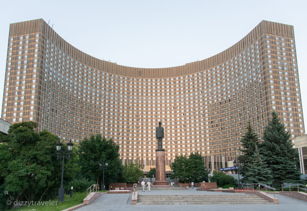 hotel cosmos, moscow