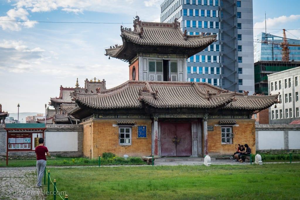 The Choijin Lama Temple in Ulan Bator