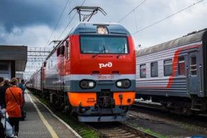 Train # 2 to Irkutsk