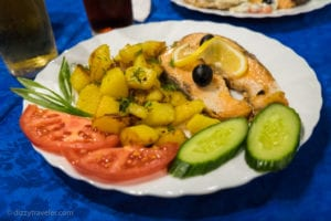 Fish with Potato, did taste delicious