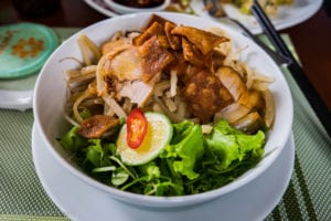 Cao Lau - Rice Noodles With Barbecued Pork