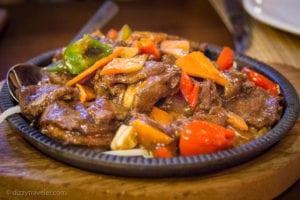 Mongolian Dish in Irkutsk