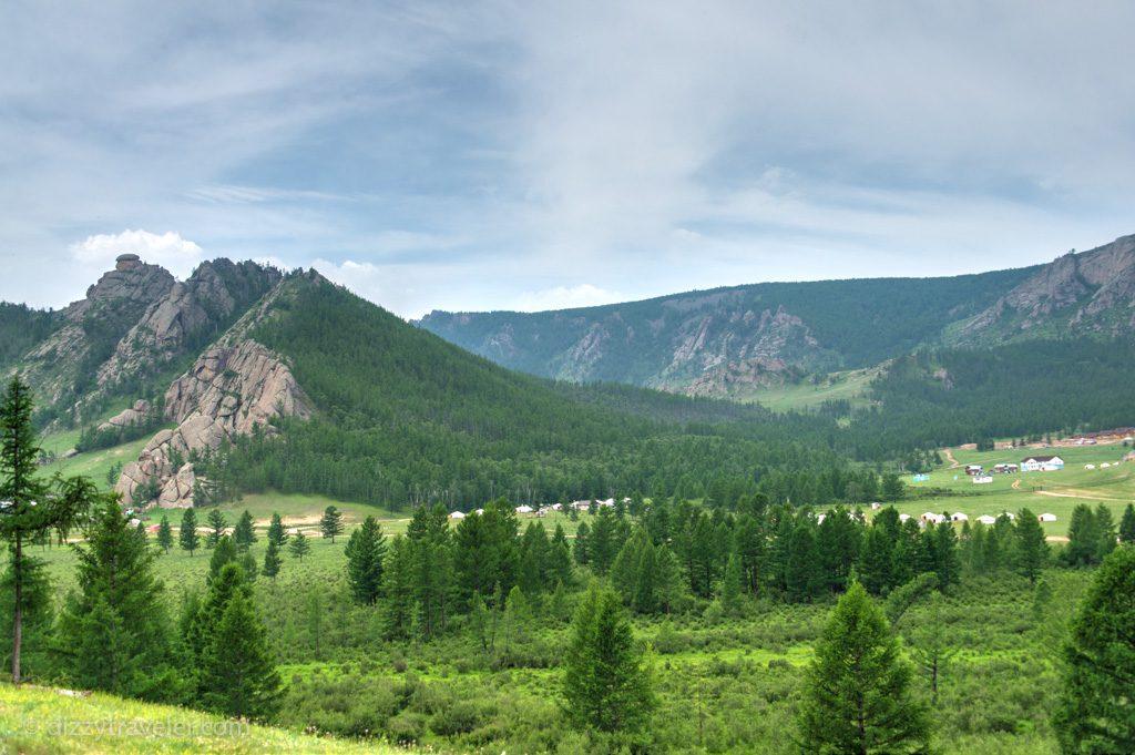 The Gorkhi-Terelj National Park