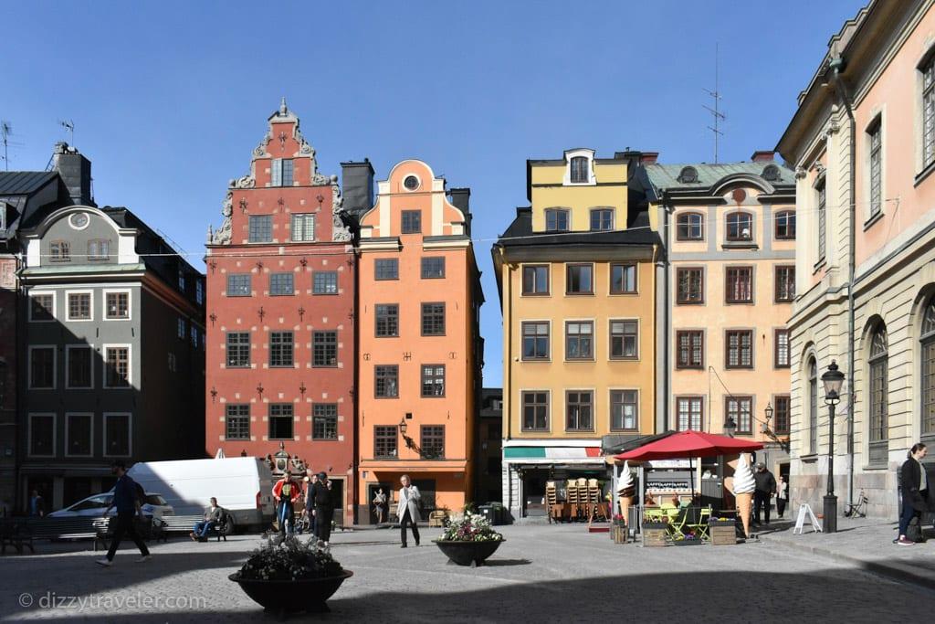 The Stortoget Square, Stockholm