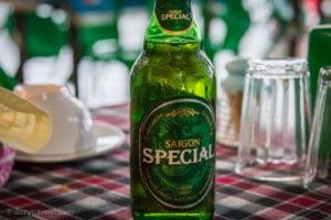 Saigon Beer in Vietnam