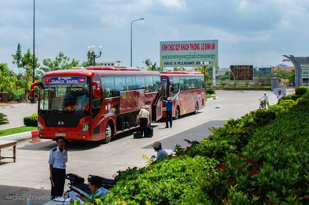 Bus from Phnom Penh to Ho Chi Minh City