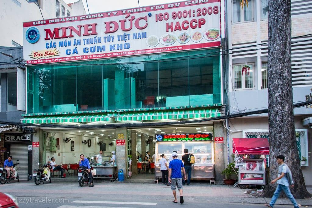 Minh Duc - Traditional Vietnamese restaurant where locals go