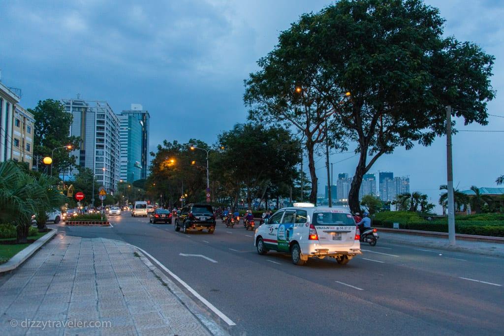 Late afternoon walk along the Saigon Riverfront
