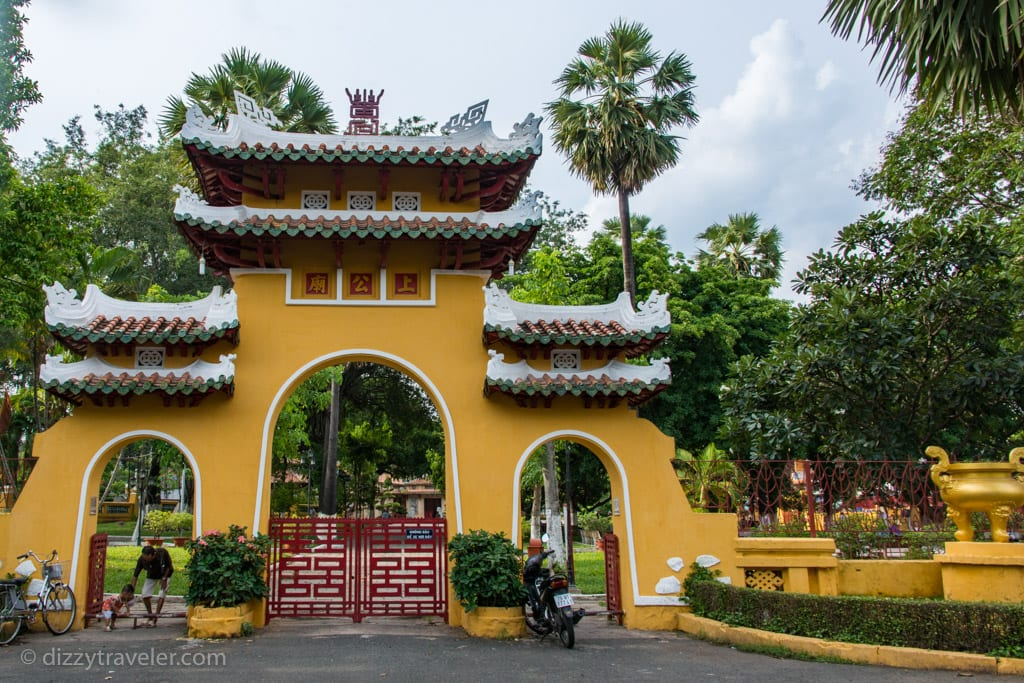 Entrance to the Tomb of Le Van Duyet, HCMC