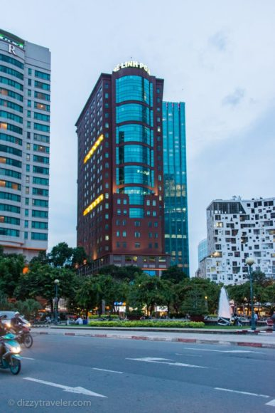 Ho Chi Minh City (Saigon) Skyline