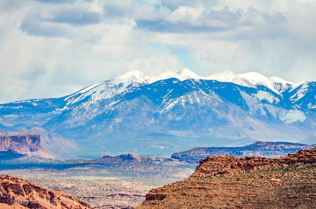 La Sal Mountain