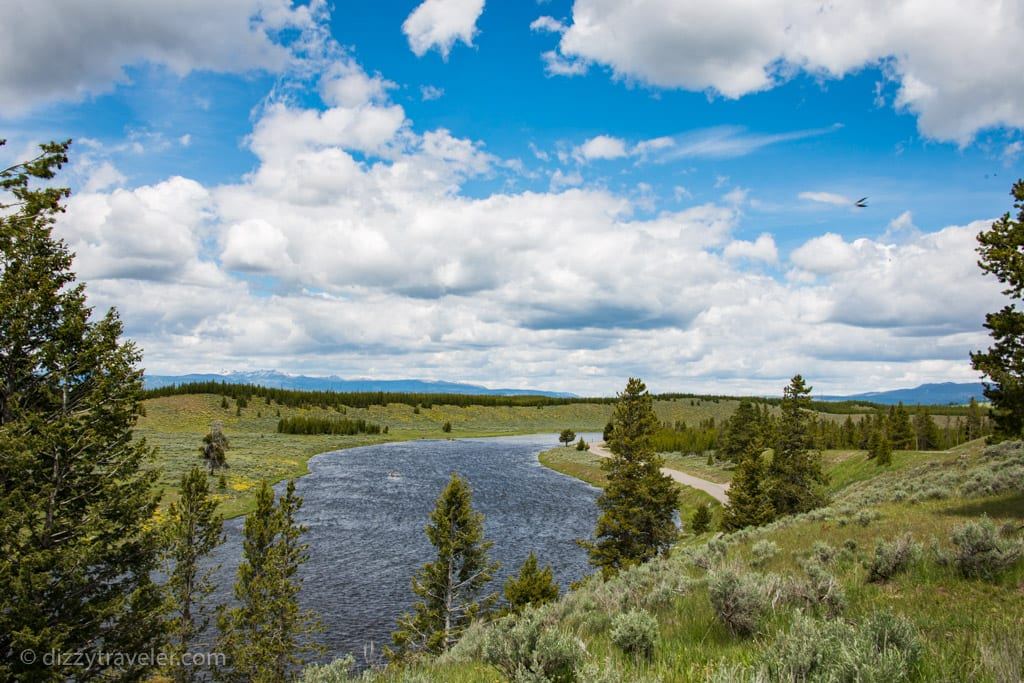 Two Ribbons Trail, Yellowstone National Park, WY