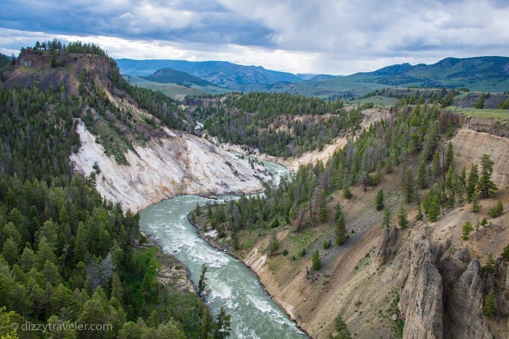 Grand Canyon of Yellowstone River